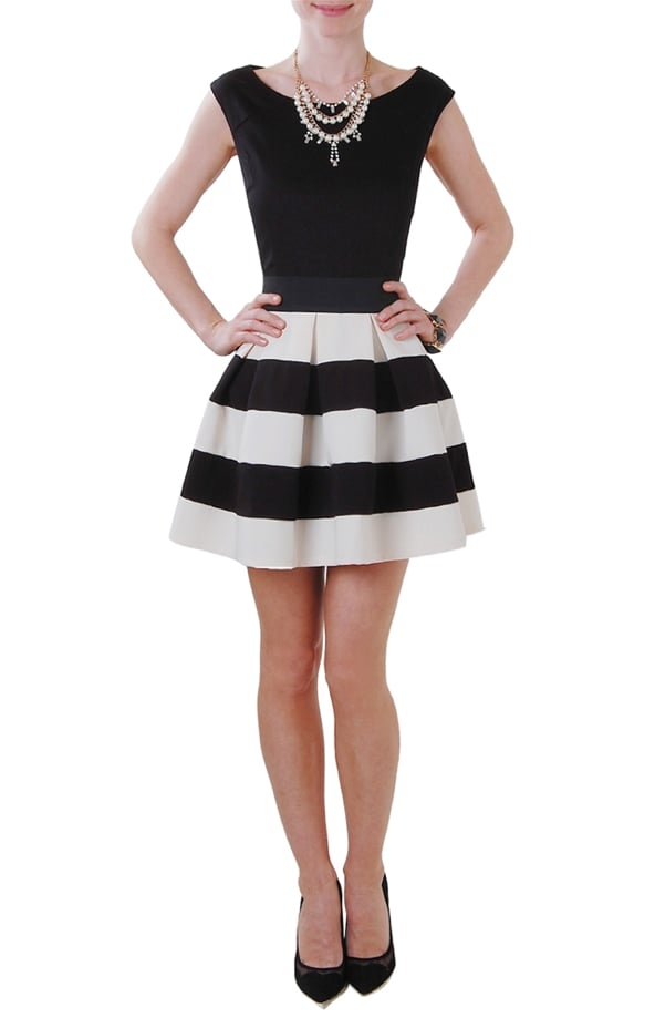 Humble Chic Striped Skirt