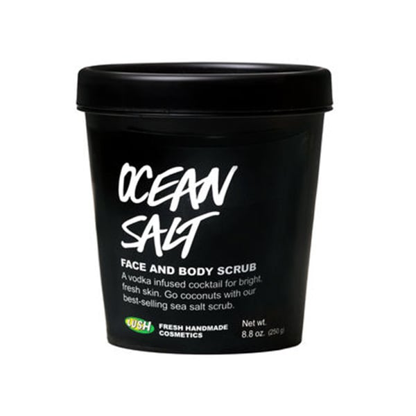 Lush Ocean Salt Self Preserving Scrub, $22.95