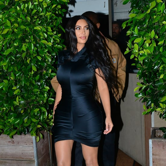 Kim Kardashian Black Minidress May 2019
