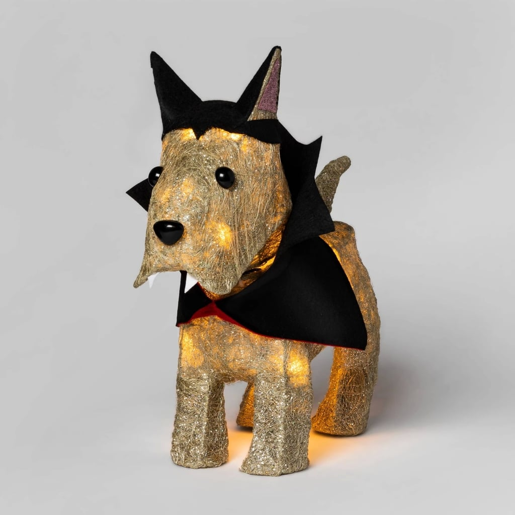 Incandescent Sisal Vampire Scotty Dog
