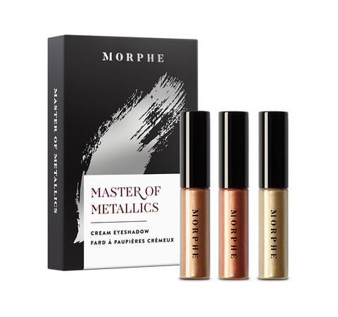 Morphe Master of Metallics Cream Eye Shadow Set