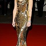 Kate Hudson in Dior at the 2008 Orange British Academy Film Awards