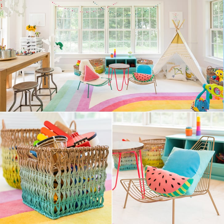 Colorful Kids\' Playroom Ideas | POPSUGAR Moms