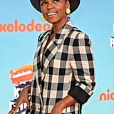 Janelle Monae Kids' Choice Awards Makeup