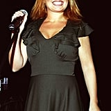 Geri Halliwell, aka Ginger Spice