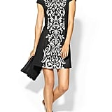 Just add heels to this Pim + Larkin Jacquard Inset Dress ($119) for an easy office party look.
