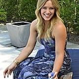 In July, Hilary Duff lounged by the pool at a party she hosted on behalf of Fiji Water in Sag Harbor.