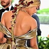 Jasmine Sanders Hair at the Met Gala 2018