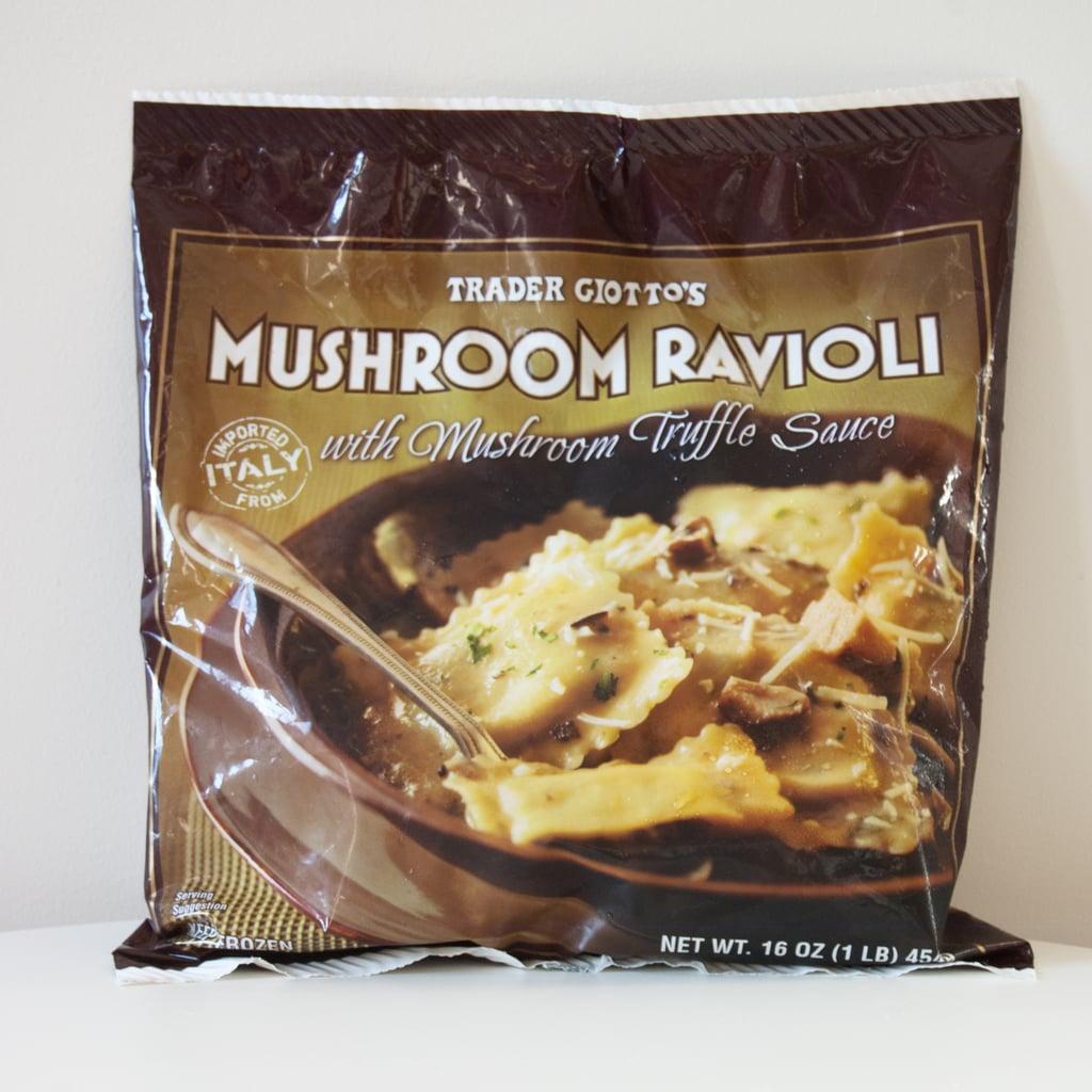 Mushroom Ravioli With Mushroom Truffle Sauce ($3)