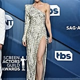 Leslie Bibb at the 2020 SAG Awards