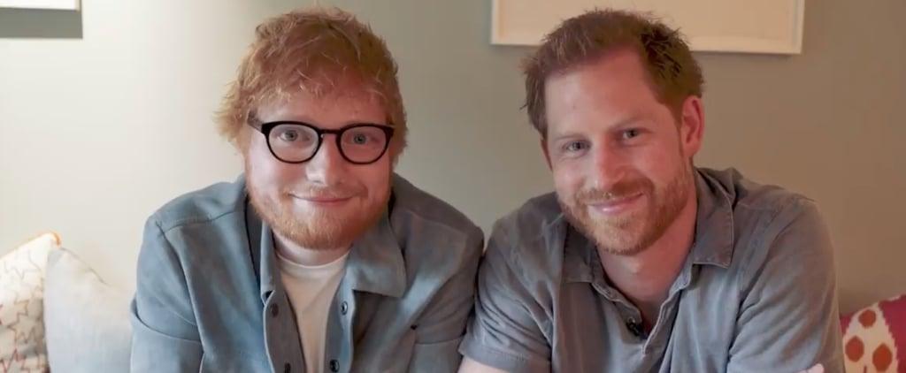 Prince Harry and Ed Sheeran World Mental Health Day Video