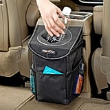 High Road Stash Away Car Trash Can With Lid and Storage Pockets