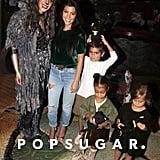 Kourtney Kardashian With Kids at Cats on Broadway Sept. 2016