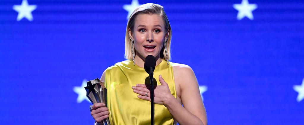 Kristen Bell SeeHer Speech at Critics Choice Awards 2020