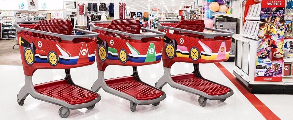 No, You're Not Dreaming —Target's Shopping Carts Are Now . . . Mario Karts?