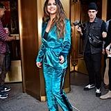 Selena Gomez Wearing a Sies Marjan Suit in NYC