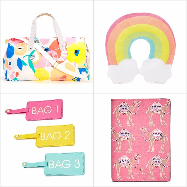Colorful Travel Accessories