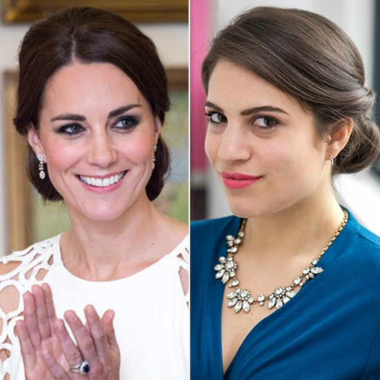 Kate Middleton Updo Hair How-To