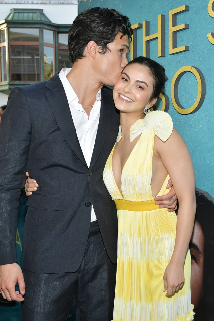 "Camila Mendes is so proud of Charles Melton. On Monday, the notoriously private couple gave us a little glimpse of their romance as they attended Charles's Los Angeles premiere of The Sun Is Also a Star. While on the red carpet, the two let their love shine bright as they held hands, laughed with each other, and posed for a handful of adorable photos. At one point, Charles even gave Camila a sweet kiss on the head. Of course, their red carpet PDA was no match for Camila's sweet love note to Charles on Instagram. Ahead of the premiere, the Riverdale actress detailed how proud she was of her boyfriend for this role. She also revealed that his passion for the project was actually one of the reasons she fell in love with him. ""Aside from having the biggest heart out of anyone I know, his passion and tenacity are part of the reason I fell in love with him,"" she explained. ""Watching him throw his entire heart and soul into this story of love taught me a lot about the kind of person he is.""  She continued, ""I'm probably sharing too much, but before we started dating he'd often get mad at me for trying to bring logic into love. he taught me that love doesn't have an explanation, it either exists or it doesn't. It was his vulnerability not only as an actor, but also as a man, that taught me that valuable message, one that is so relevant to this film. I'm so proud of you Charles, and so grateful to have witnessed this beautiful journey of yours. Can't wait for the world to see what you're capable of."" See more photos of the couple at the premiere ahead!       Related:                                                                                                           Thank You, Riverdale, For Blessing Us With Camila Mendes and Charles Melton's Relationship"