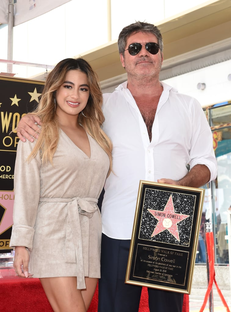 Ally Brooke and Simon Cowell
