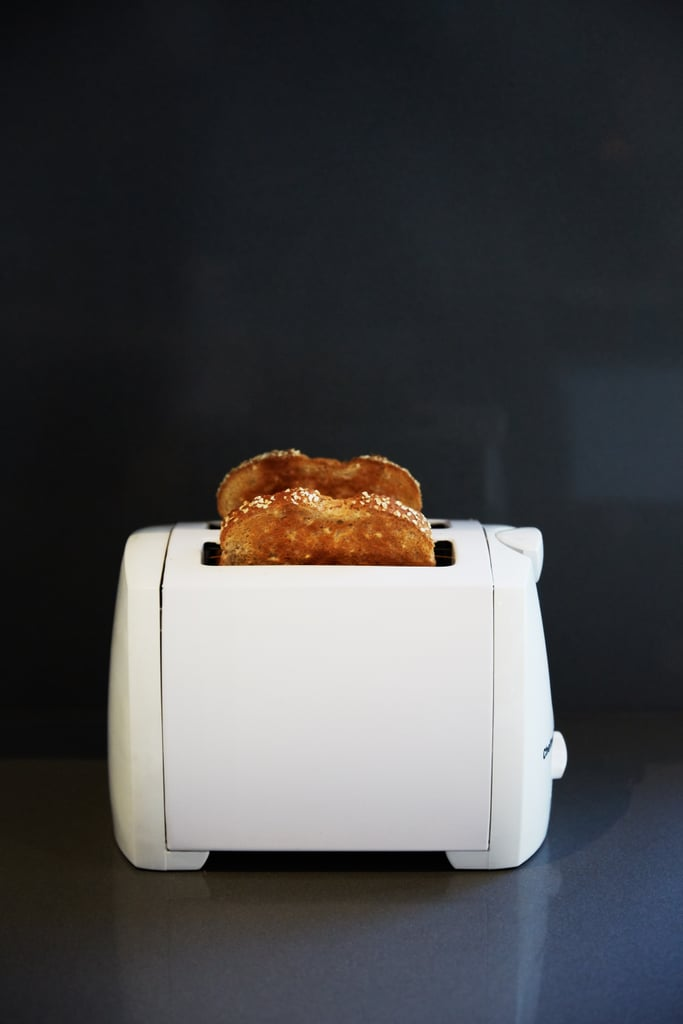 De-crumb your toaster.