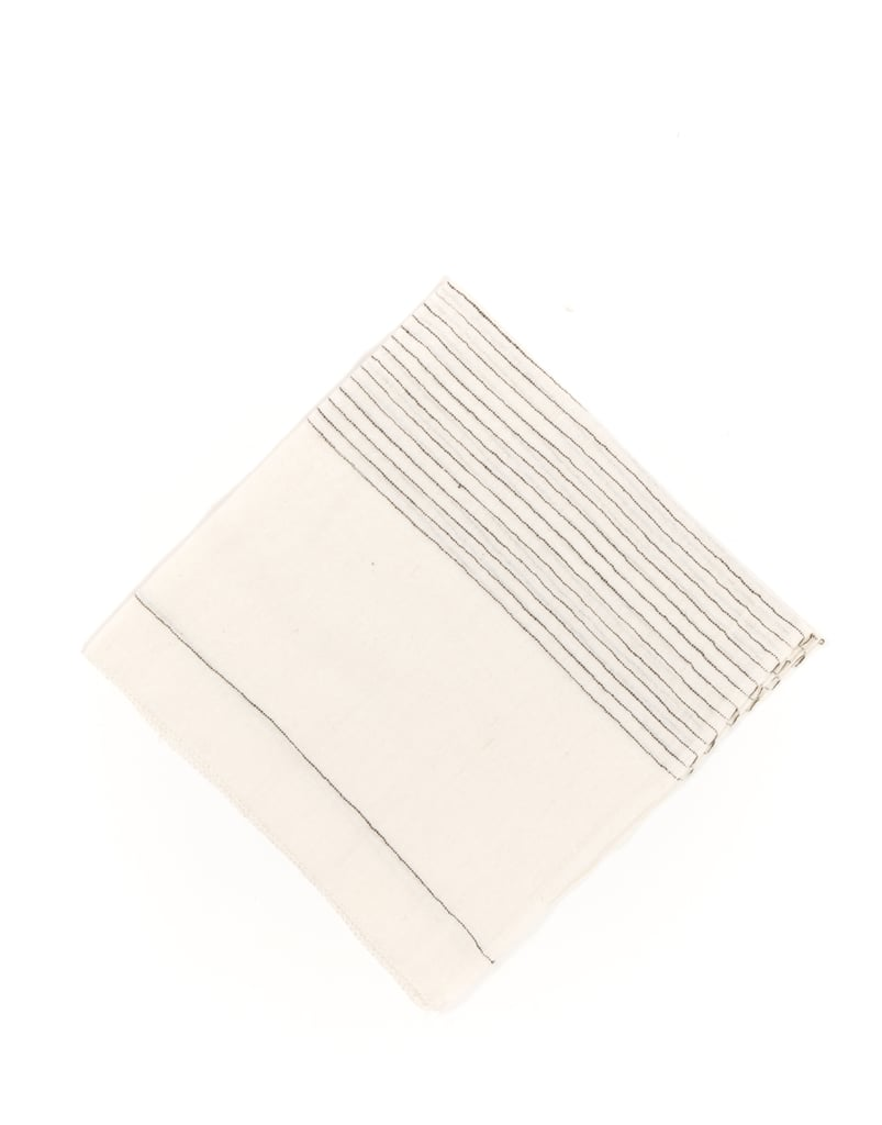 I love these hand-woven napkins ($14) from Ethiopia! They are great gift for someone who likes to entertain.