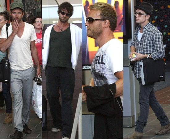 30/09/08 Take That in LA