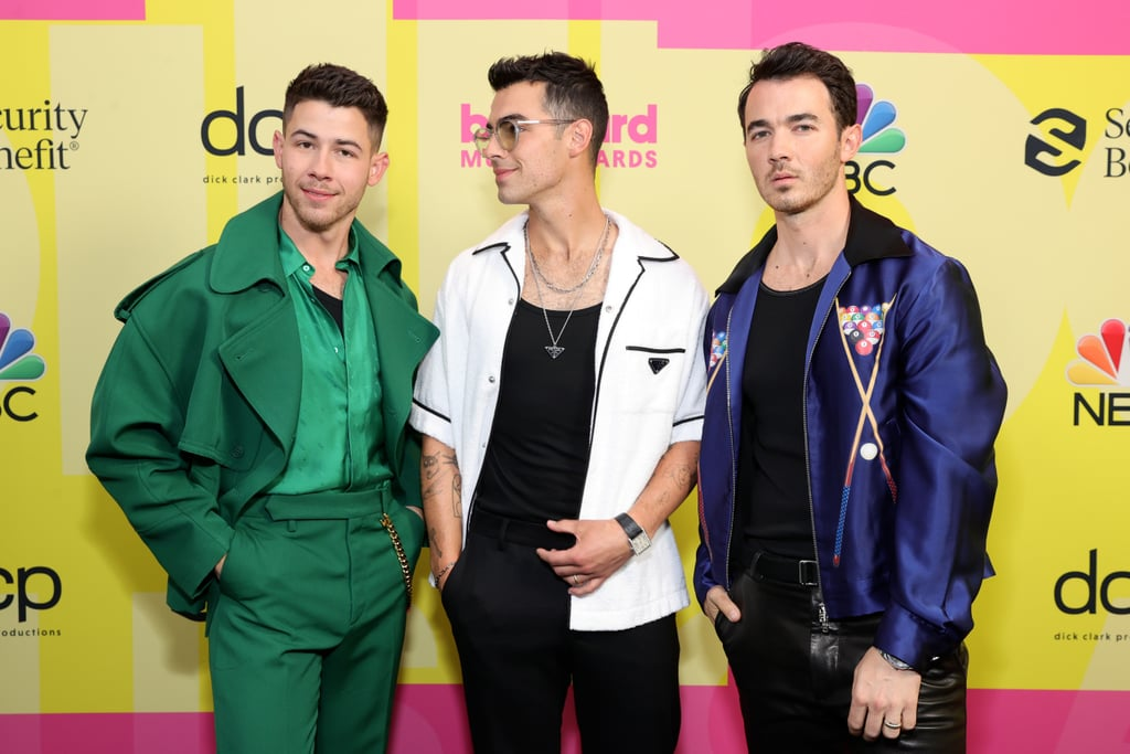 Jonas Brothers at the 2021 Billboard Music Awards   Pictures