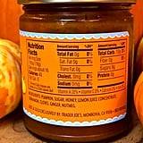 Trader Joe's Pumpkin Butter Nutritional Info