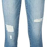 Current/Elliott Distressed Skinny Jeans ($228)