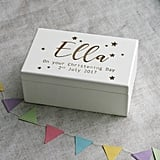 Modo Creative Personalised Wind Up Christening Music Box