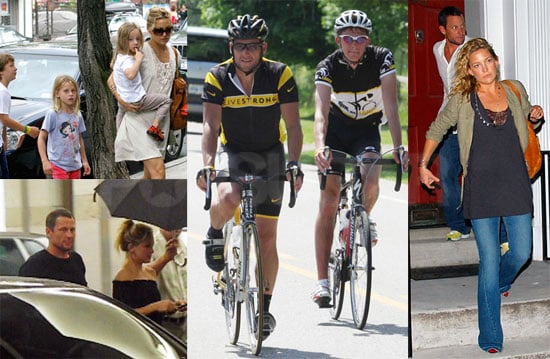 Photos of Lance Armstrong and Kate Hudson at Ride With Lance in Toronto