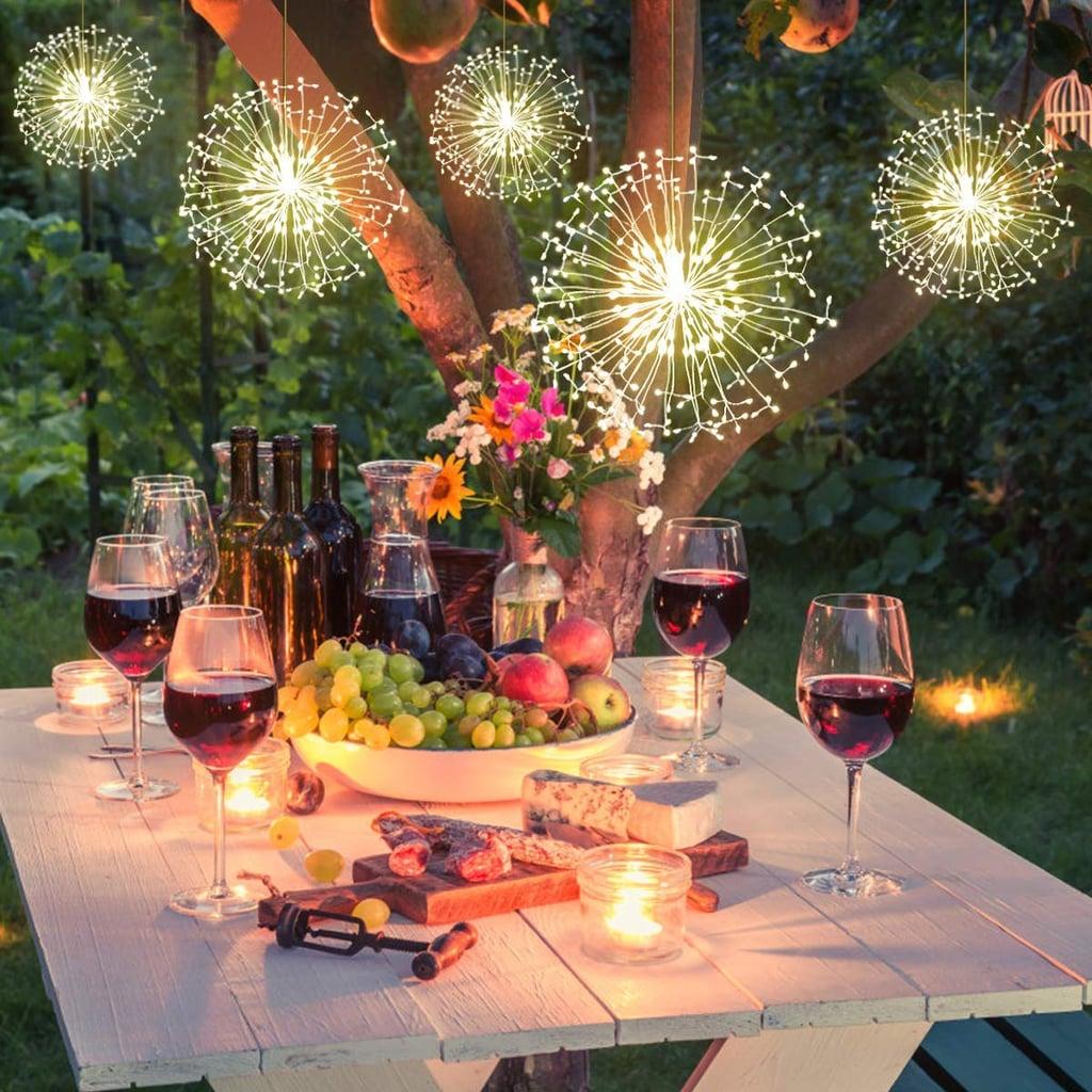 Outdoor Firework Lights