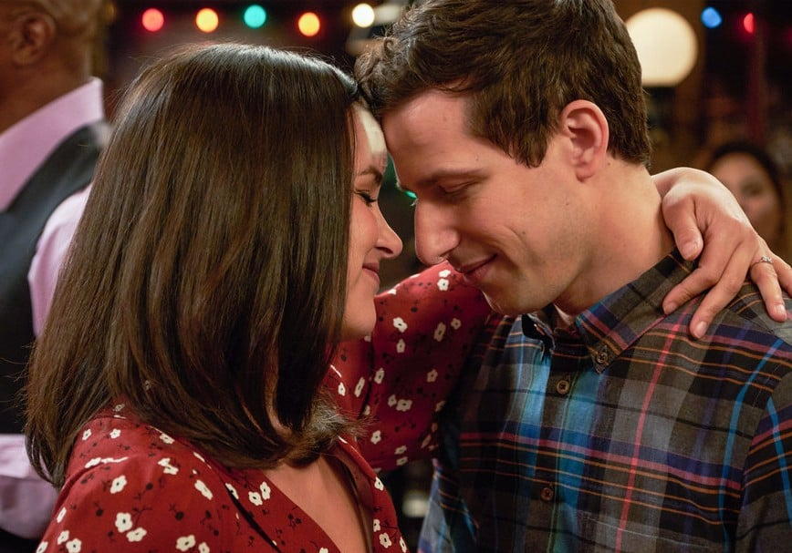 Brooklyn Nine-Nine Jake and Amy Gifs