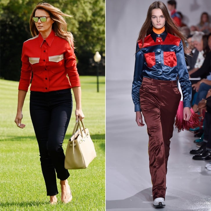 Melania Trump Favorite Brands at Fashion Week Spring 2018