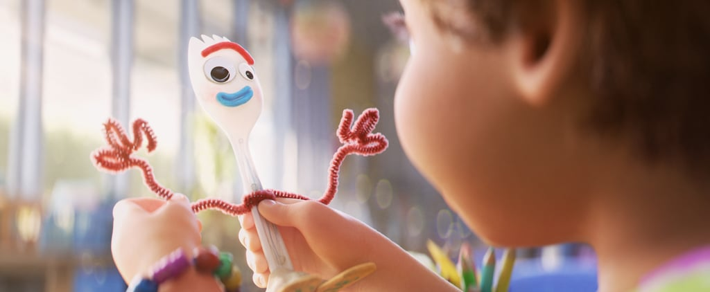 Video of Toy Story 4 Stars Making Their Own Forky