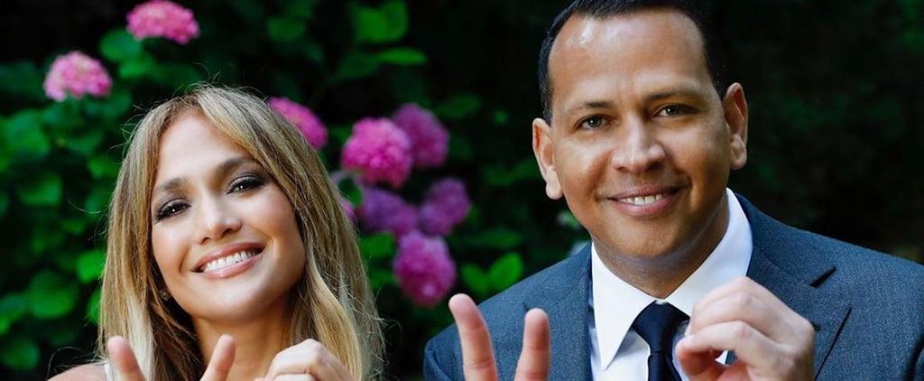Watch Jennifer Lopez and Alex Rodriguez's Graduation Speech