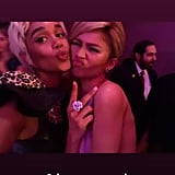 Laura Harrier and Zendaya Looked Adorable Together