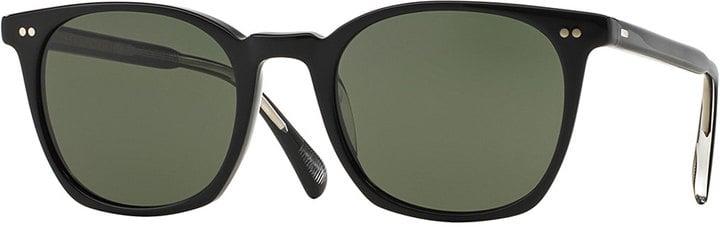Oliver Peoples L.A. Coen Acetate Sunglasses, Black ($325)