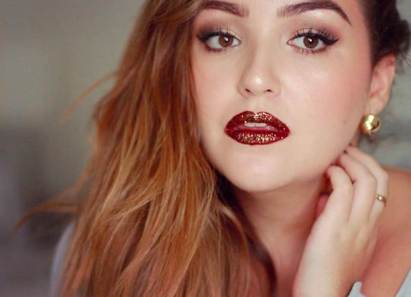 16 Women Who Will Convince You That You Can Wear Glitter Lips, Too