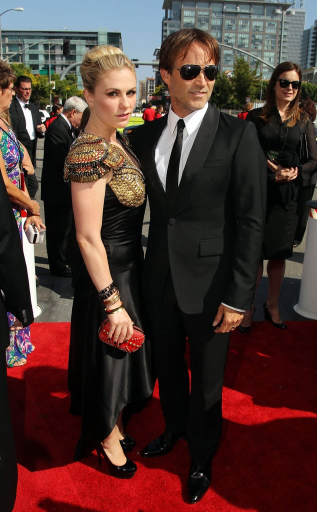Anna Paquin and Stephen Moyer at the 2010 Primetime Emmy Awards