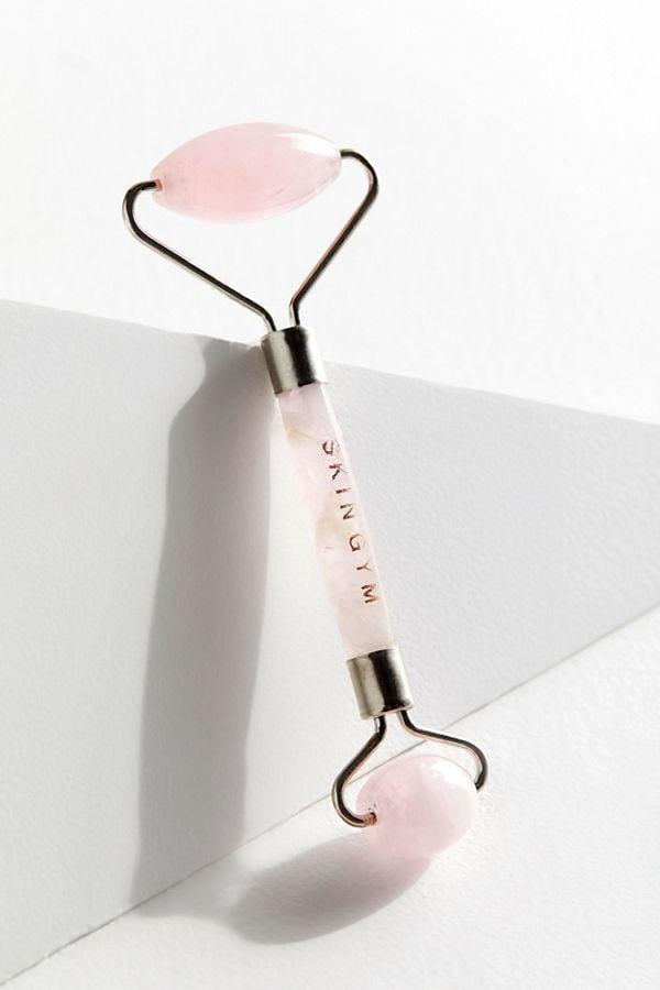 Skin Gym Rose Quartz Crystal Facial Roller