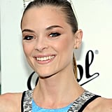 Jaime King smiled with a pair of sunglasses on her head at the Persol Magnificent Obsessions event in NYC.