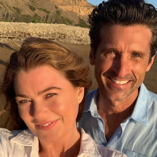 Ellen Pompeo's Behind-the-Scenes Photos With Patrick Dempsey