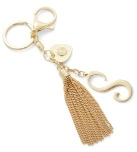 RJ Graziano Initial Tassel Keychain | Must-Have Backpack
