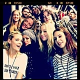 Jaime King and Rachel Bilson hung out with a huge group of friends. Source: Instagram user jaime_king