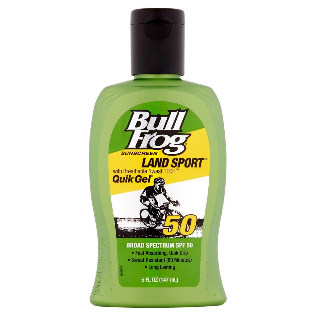 #3 Lotion: BullFrog Land Sport Quik Gel SPF 50