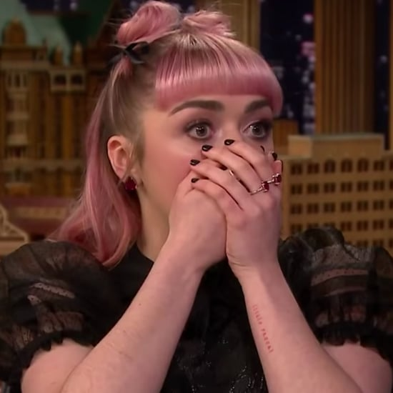 Maisie Williams Game of Thrones Spoiler on The Tonight Show