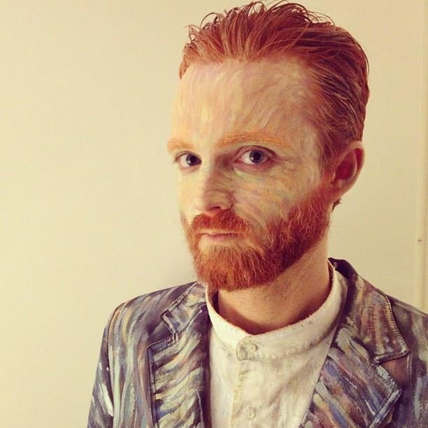 van gogh - 2017 Men Halloween Costume Ideas