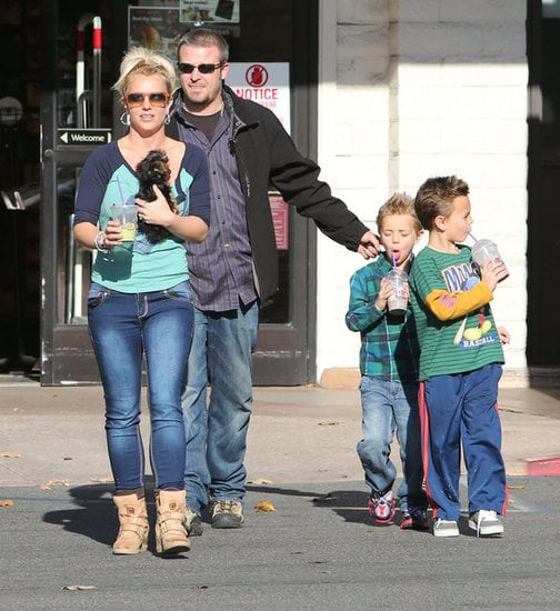 Britney Spears Jessica Simpson Is Reportedly Pregnant Again 7 Celebs With Kids Close In Age Popsugar Family Photo 2